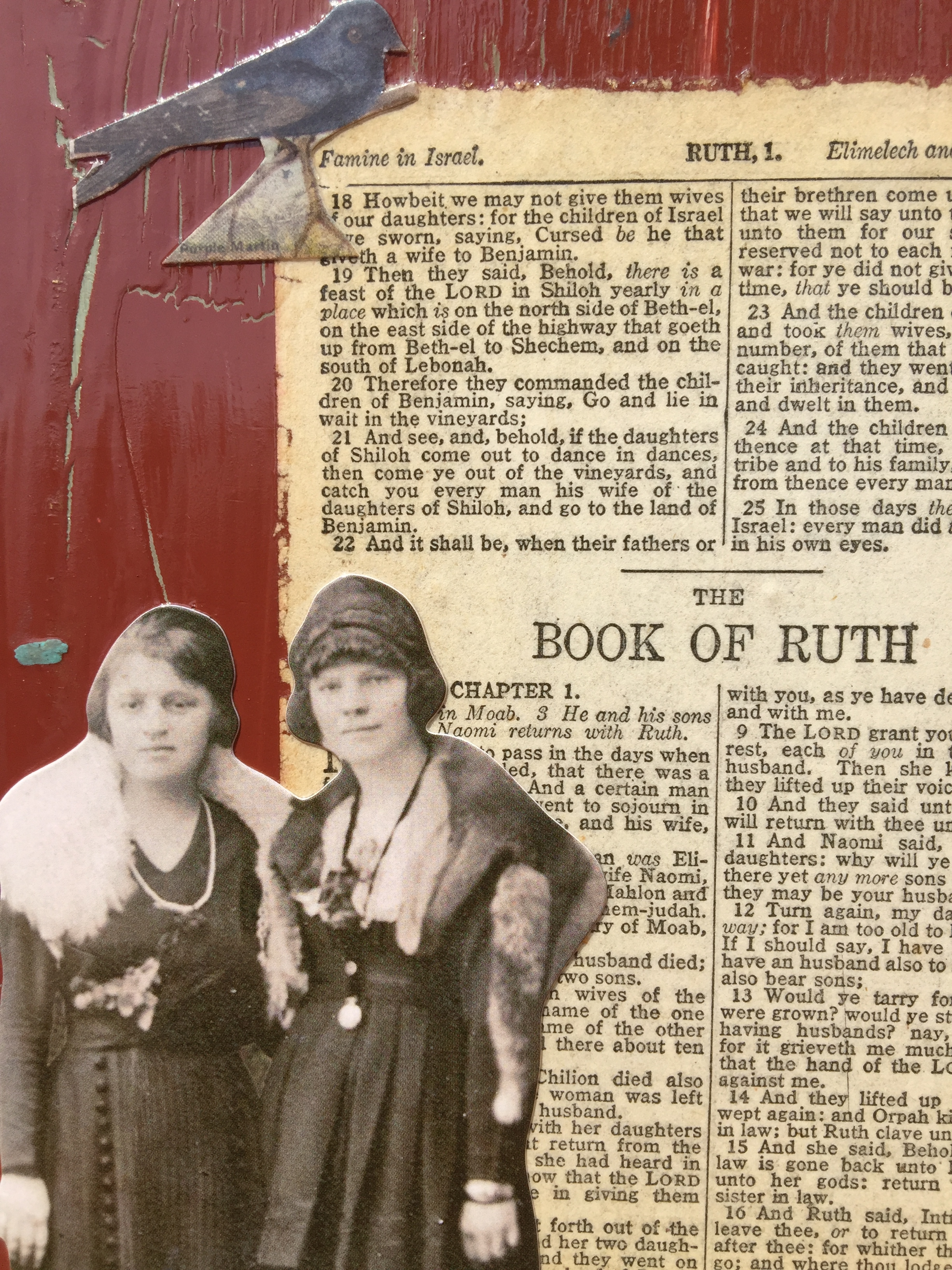 Ruth and Naomi (Detail view)